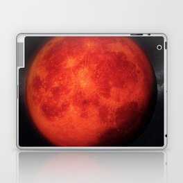 Super bloody moon Laptop & iPad Skin