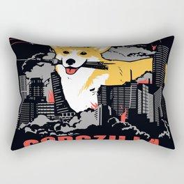 CORGZILLA Rectangular Pillow