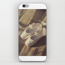Ballet dance shoes iPhone Skin