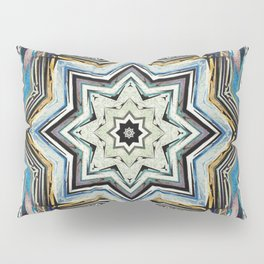 Eight Points of Texture Pillow Sham