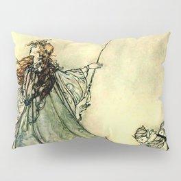 """""""Queen of the Fairies"""" by Arthur Rackham Midsummer's Night Pillow Sham"""