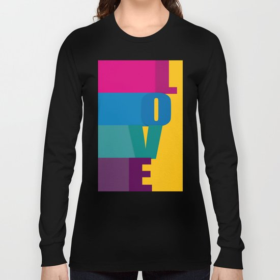 The love is colorful Long Sleeve T-shirt