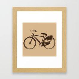 bicicle Framed Art Print