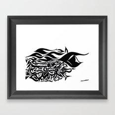 wave design 1.0 Framed Art Print