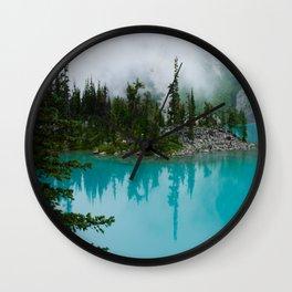 Joffre Lake Wall Clock