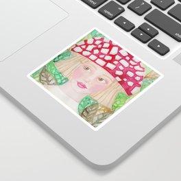 Mushie Girl Sticker