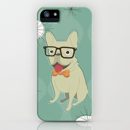 Frank the Frenchie iPhone Case