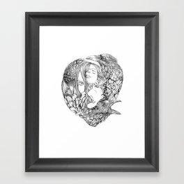 Brenna Whit - Line Framed Art Print