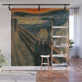 The Scream Wall Mural