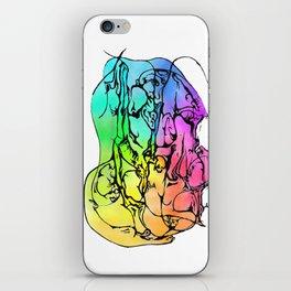 Hidden Dancer iPhone Skin