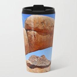 Rock Arch near Spitzkoppe, Namibia Travel Mug