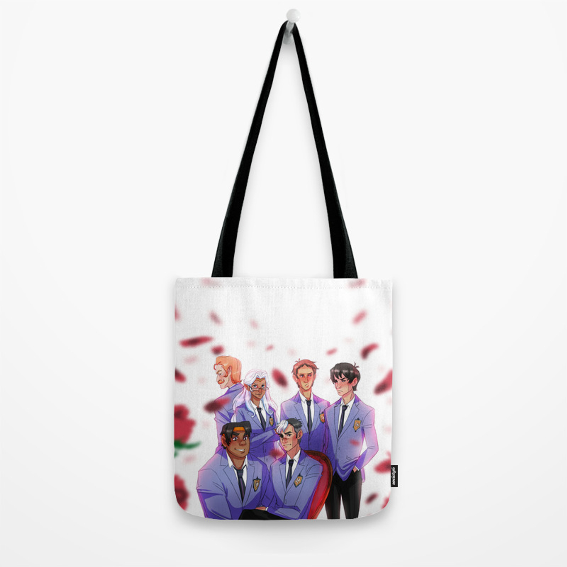 Voltron High School Host Club Tote Bag