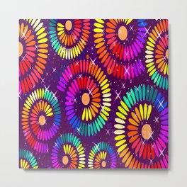 Colorful Ilusion Metal Print