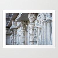 spiritual Art Prints featuring Spiritual by Gunjan Marwah
