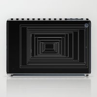 noir iPad Cases featuring Noir by My own little world