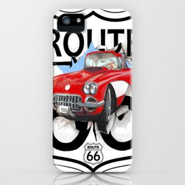Route 66 USA iPhone Case