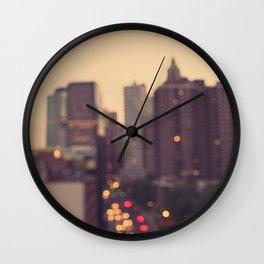 Urban Gold Wall Clock