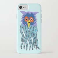 cthulu iPhone & iPod Cases featuring the owl of cthulu by ronnie mcneil