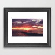 Portulano Sunset Framed Art Print