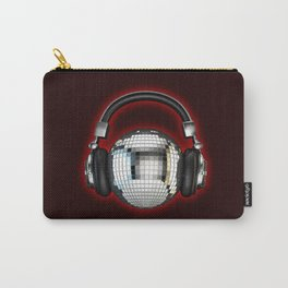Headphone disco ball Carry-All Pouch