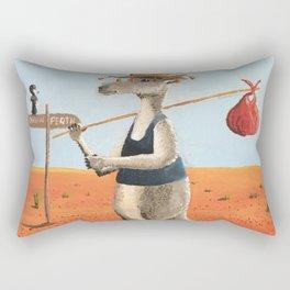 The Traveller Rectangular Pillow