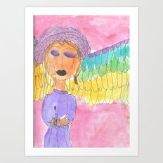 2006 Angel Art Print