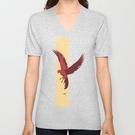 Red Falcon Unisex V-Neck