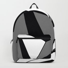 Monochrome Abstract  Backpack