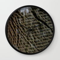 acid Wall Clocks featuring Acid by RaviusKiedn