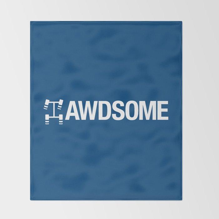 AWDSOME v5 HQvector Throw Blanket