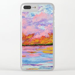 Canandaigua Lake by Mike Kraus Clear iPhone Case