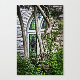 Window To Heaven Canvas Print