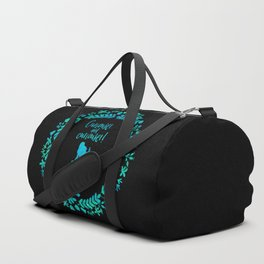 Curiouser and curiouser! Alice in Wonderland. Duffle Bag