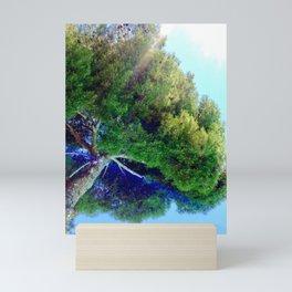 Shade Above The Pool Mini Art Print