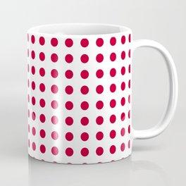 Abstract from the flag of japan – japanese,red,sun,asia,nippon,tokyo,edo,osaka,nagoya,ikebana,noh. Coffee Mug
