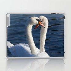 Courting Swans  Laptop & iPad Skin
