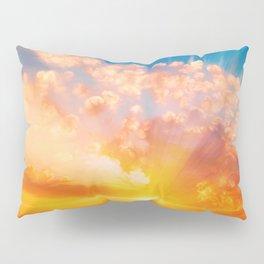 Sunset feather Pillow Sham