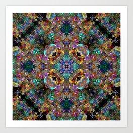 Kaleidoscope of Bubbles  Art Print