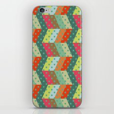 retro pattern and observatory 2 iPhone & iPod Skin
