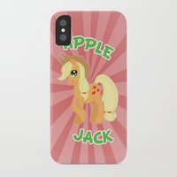 mlp iPhone & iPod Cases featuring MLP FiM: Applejack by Yiji