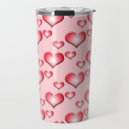 herzen collage 2 Travel Mug