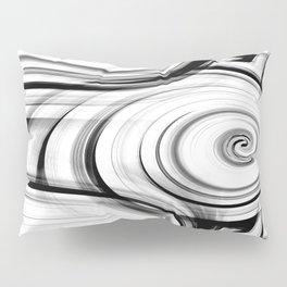 Black And White Swirls By Saribelle Rodriguez Pillow Sham