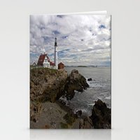 maine Stationery Cards featuring Maine Splendor by Catherine1970