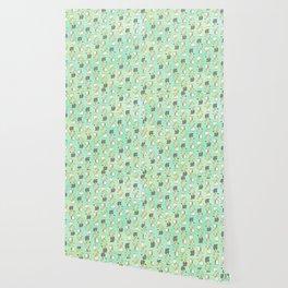 Confused Cockatiel - Pattern Wallpaper