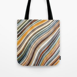 Wild Wavy Lines XV Tote Bag