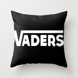 Off the Deathstar Wall  Throw Pillow