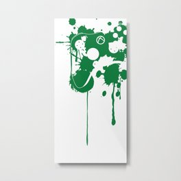 Control - D Metal Print