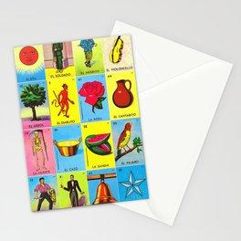 LOTERIA MEXICO Stationery Cards