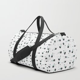Pilates Yoga Poses Duffle Bag