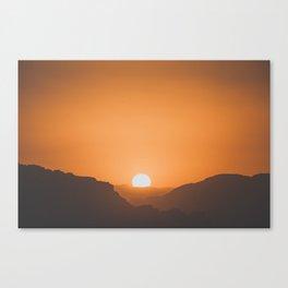 Wadi Rum X Canvas Print